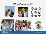 who can adopt