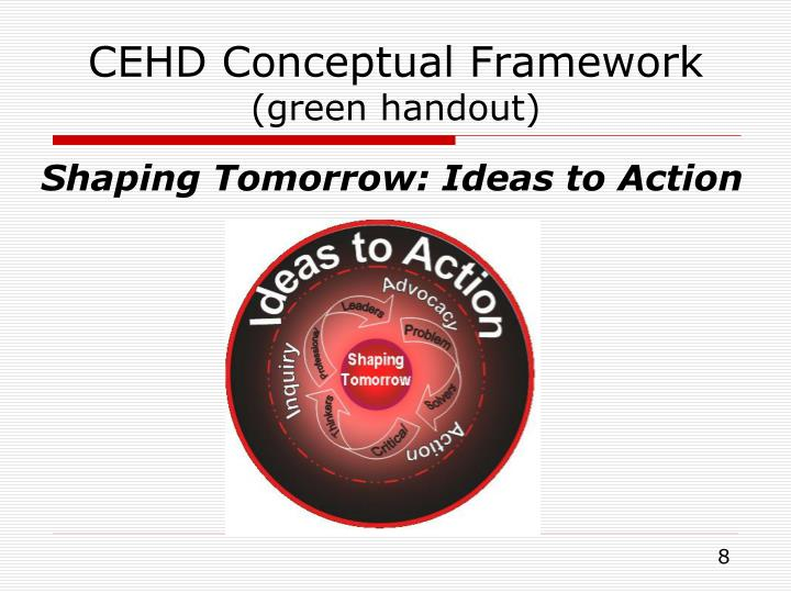 CEHD Conceptual Framework