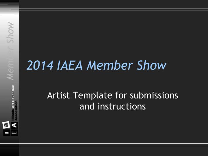 2014 iaea member show n.