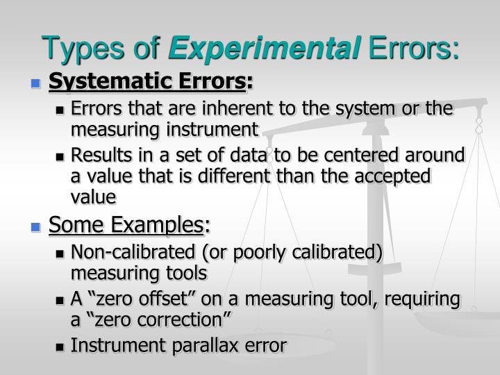 Ppt Errors And Uncertainties Powerpoint Presentation Id3502246