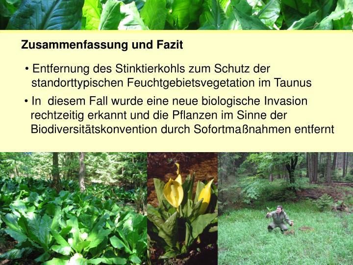 Projektgruppe Biodiversität und Landschaftsökologie