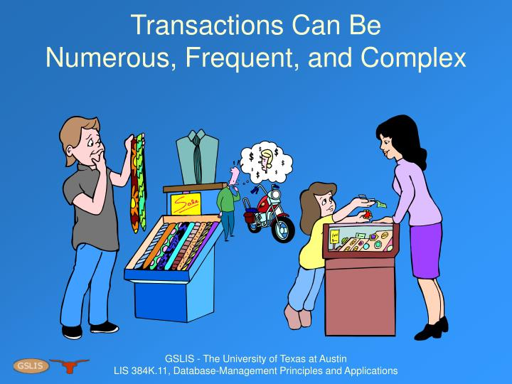 Transactions Can Be