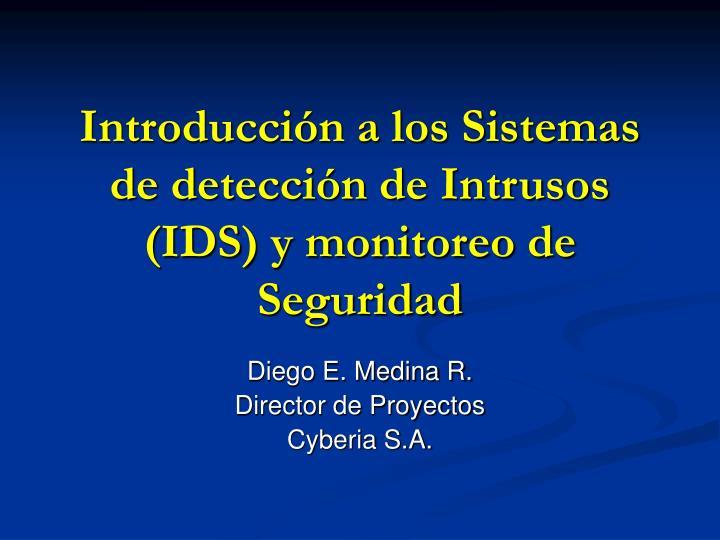introducci n a los sistemas de detecci n de intrusos ids y monitoreo de seguridad n.
