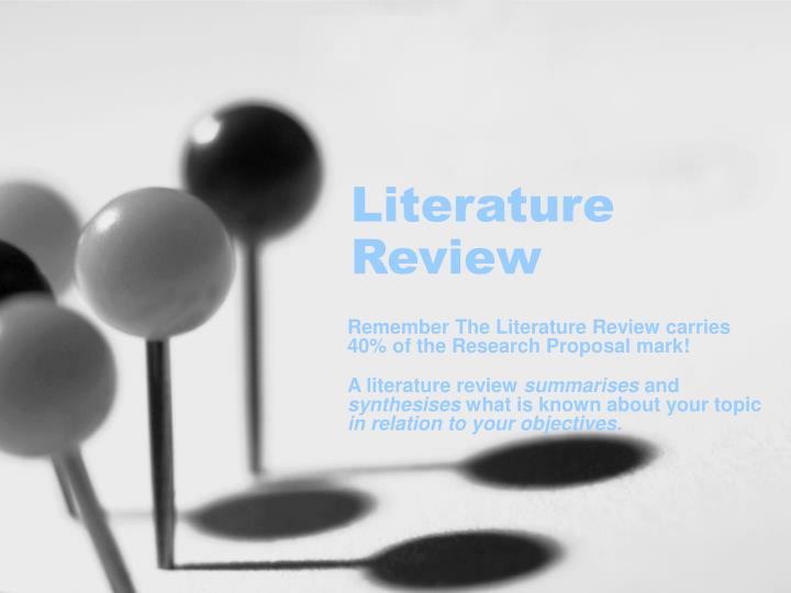 literature review n.