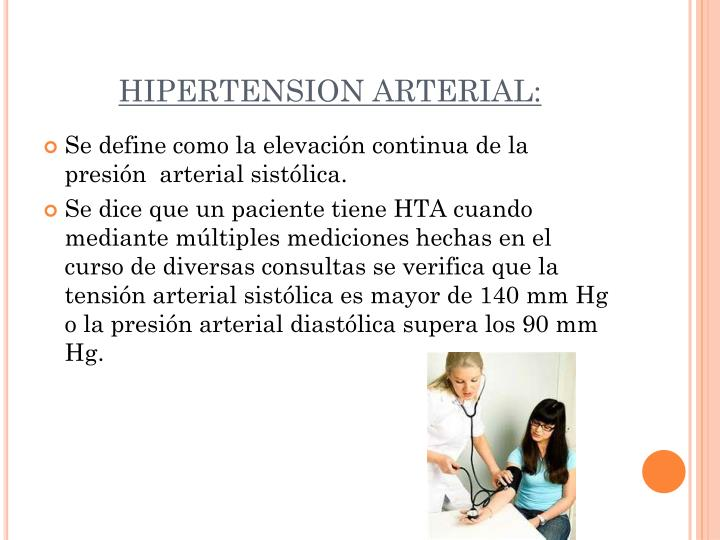 HIPERTENSION ARTERIAL: