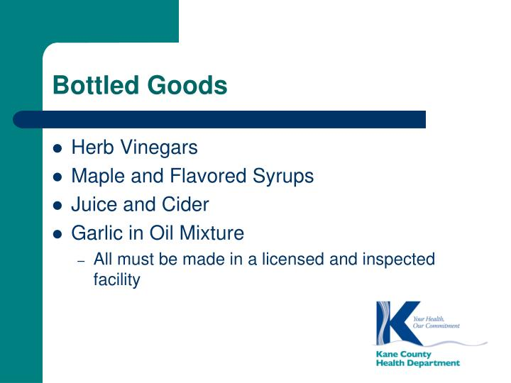 Bottled Goods