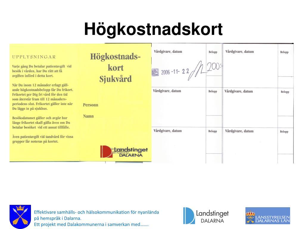 Högkostnadsskydd västra götaland 2018