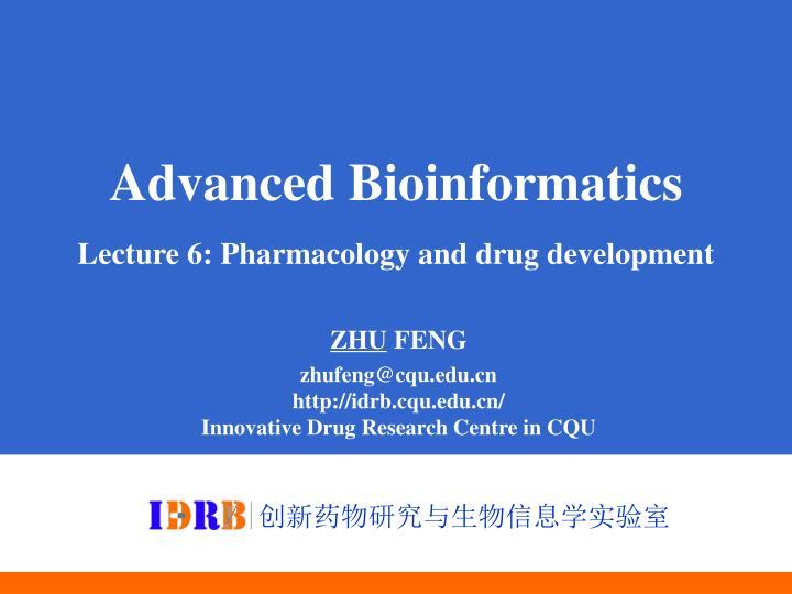 Advanced Bioinformatics