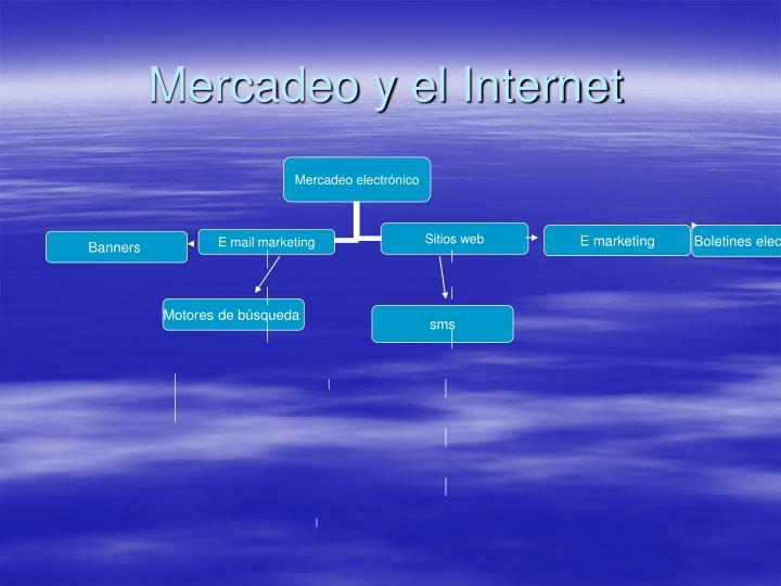 mercadeo y el internet