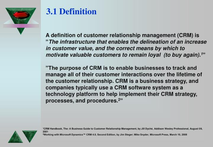 definition of crm strategy