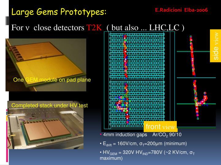 Large Gems Prototypes: