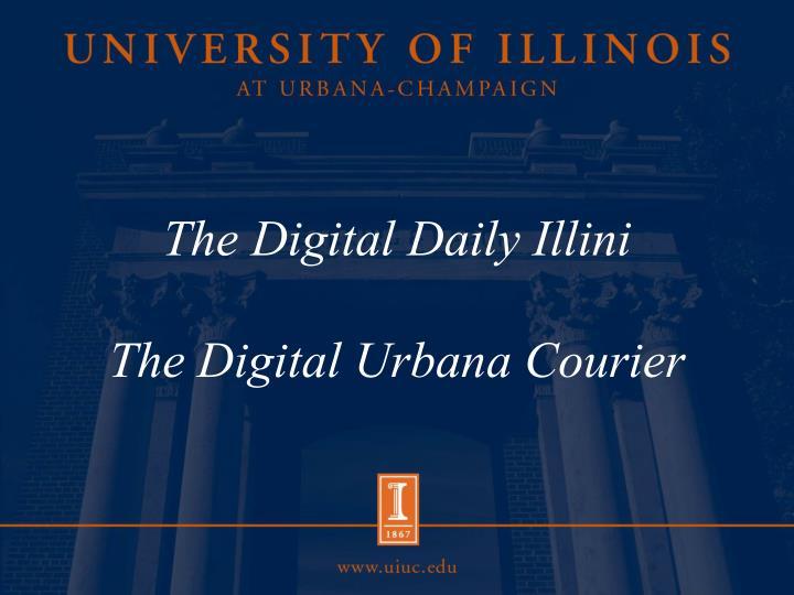 the digital daily illini the digital urbana courier n.