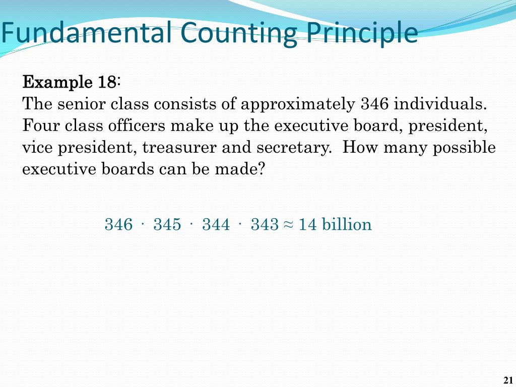 PPT - Counting Principles PowerPoint Presentation, free download In Fundamental Counting Principle Worksheet