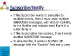 subscribe notify1
