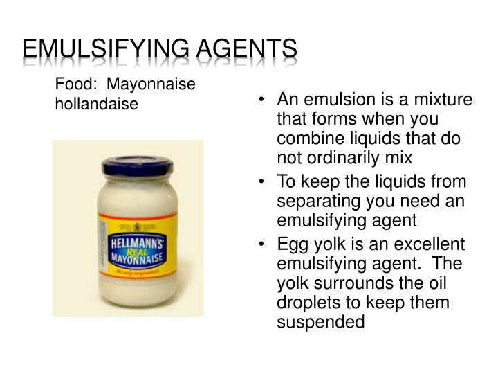 Emulsifying Agents