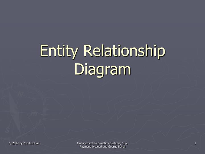 Ppt - Entity Relationship Diagram Powerpoint Presentation