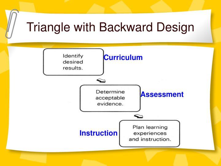Triangle with Backward Design