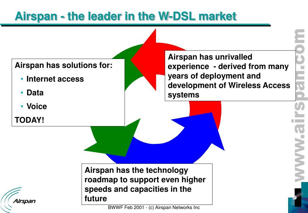 PPT - Broadband Wireless World Forum San Francisco