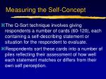 measuring the self concept