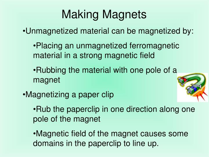 Making Magnets