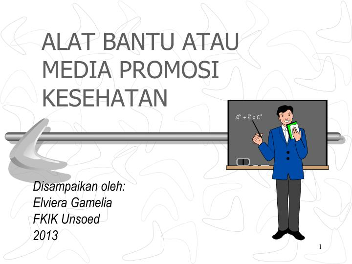 Ppt Alat Bantu Atau Media Promosi Kesehatan Powerpoint Presentation Free Download Id 3504484