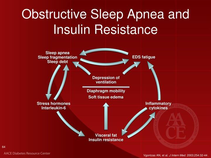 Obstructive Sleep Apnea and Insulin Resistance