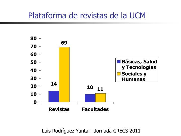 Plataforma de revistas de la UCM