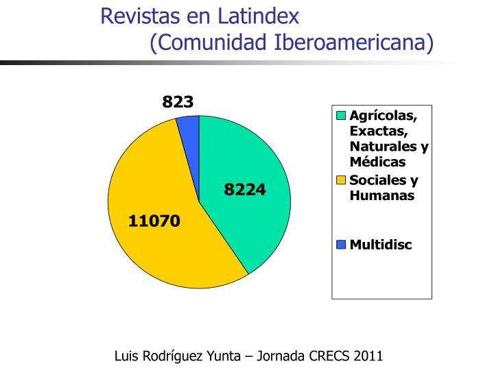 Revistas en Latindex