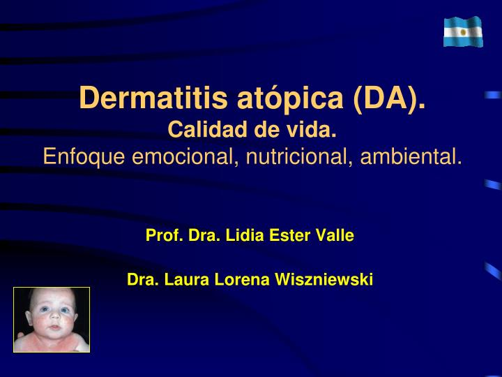 dermatitis at pica da calidad de vida enfoque emocional nutricional ambiental n.