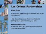 las colinas partnerships