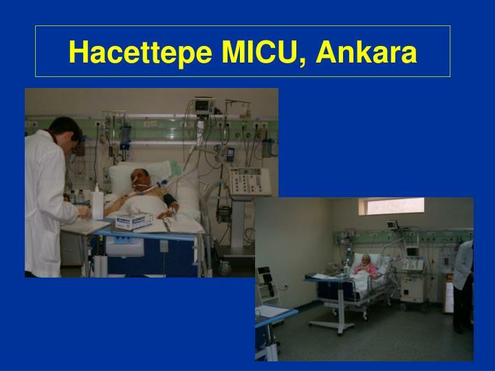 Hacettepe MICU, Ankara
