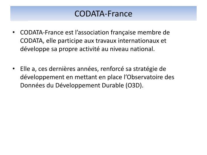 CODATA-France