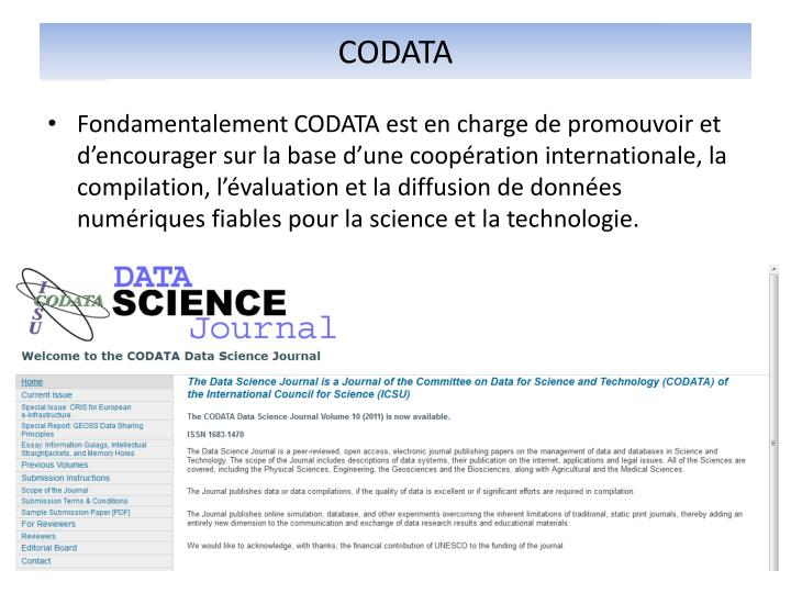 CODATA