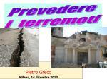pietro greco milano 14 dicembre 2012