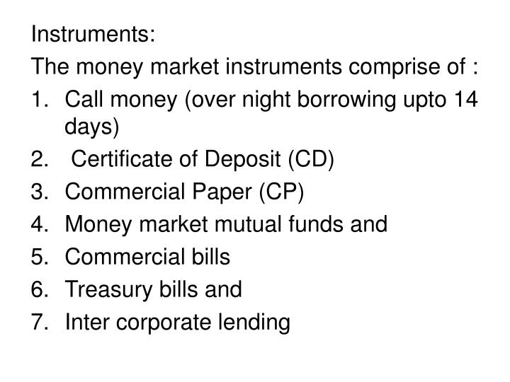 impact of commercial paper in the indian money market Open-market operation, any of the purchases and sales of government securities and sometimes commercial paper by the central banking authority for the purpose of regulating the money supply and credit conditions on a continuous basis.