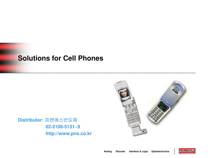 solutions for cell phones n.