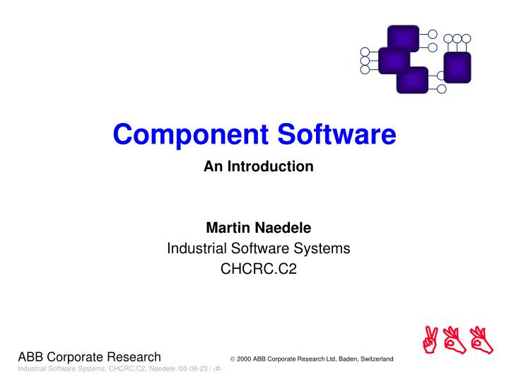 component software n.