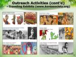 outreach activities cont d traveling exhibits www koreasociety org