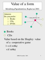 value of a form kleinberg papadimitriou raghavan 2001