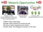 meteoric opportunities
