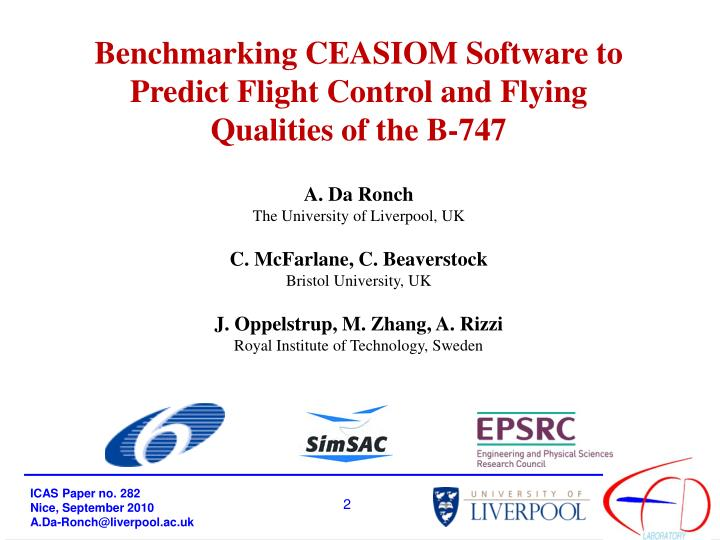Benchmarking CEASIOM Software to Predict Flight Control and Flying Qualities of the B-747