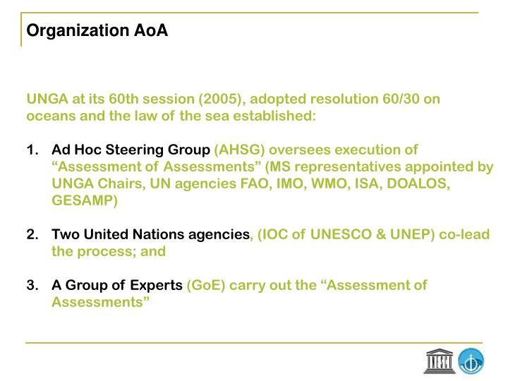 Organization AoA