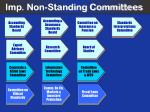 imp non standing committees