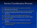 service coordination process