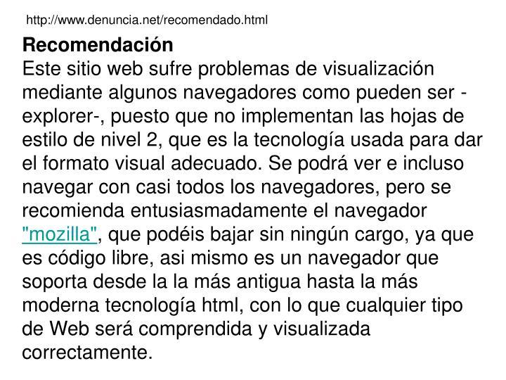 http://www.denuncia.net/recomendado.html