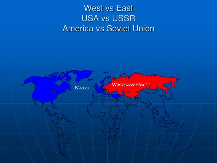 a comparison of ussr and the united states on the end of world war ii Some 20 years after the end of world war i, lingering disputes erupted in an even larger and bloodier conflict—world war ii the war began in europe in 1939, but by its end in 1945 it had involved nearly every part of the world.