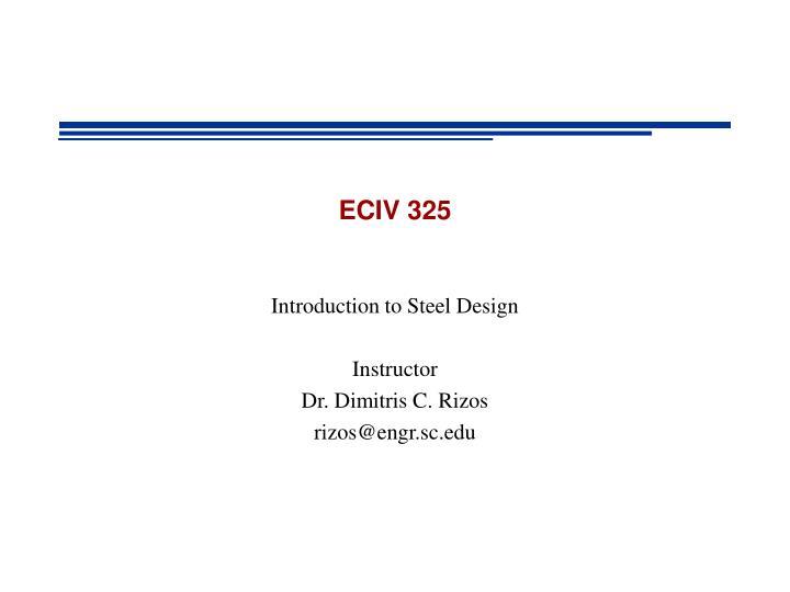 eciv 325 n.
