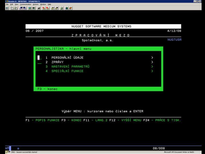 i5/OS – Nugget Obr. 2