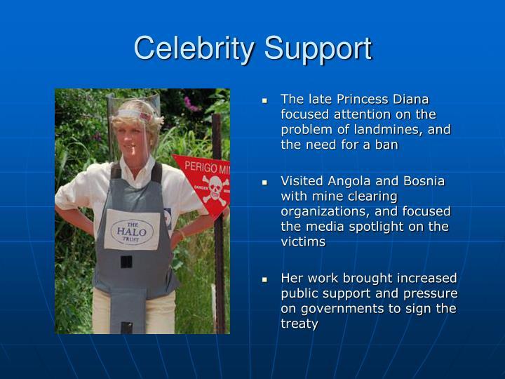 Celebrity Support