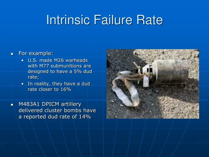 Intrinsic Failure Rate